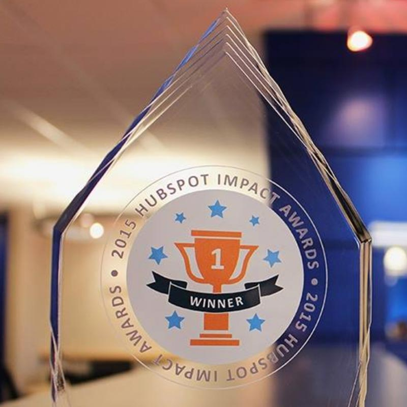 HubSpot Impact Award Winning Agency