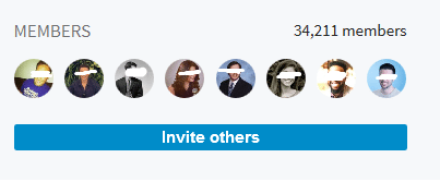 Linkedin Tip: connect with liked-minded people.