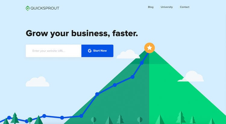 Quicksprout SEO Tool