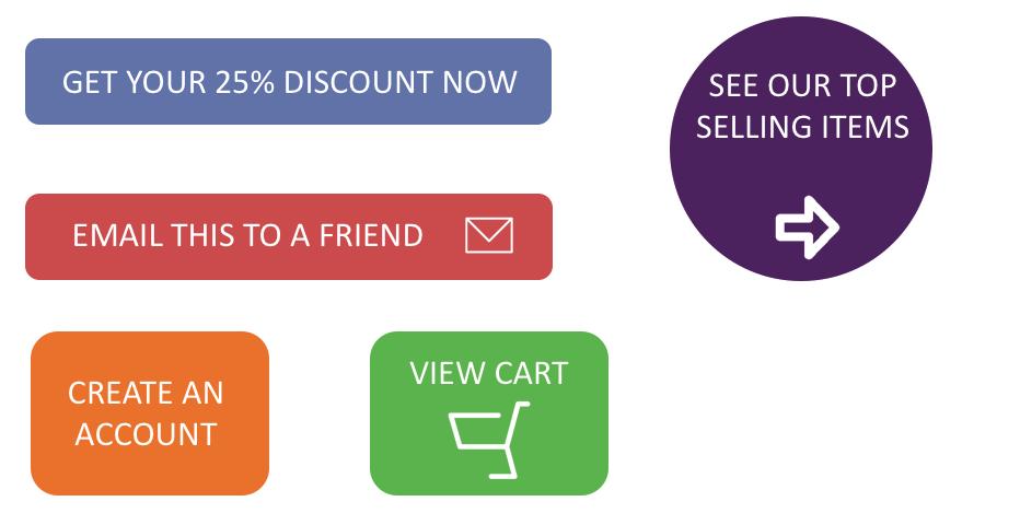 Ecommerce CTAs Downloadable Simple Buttons