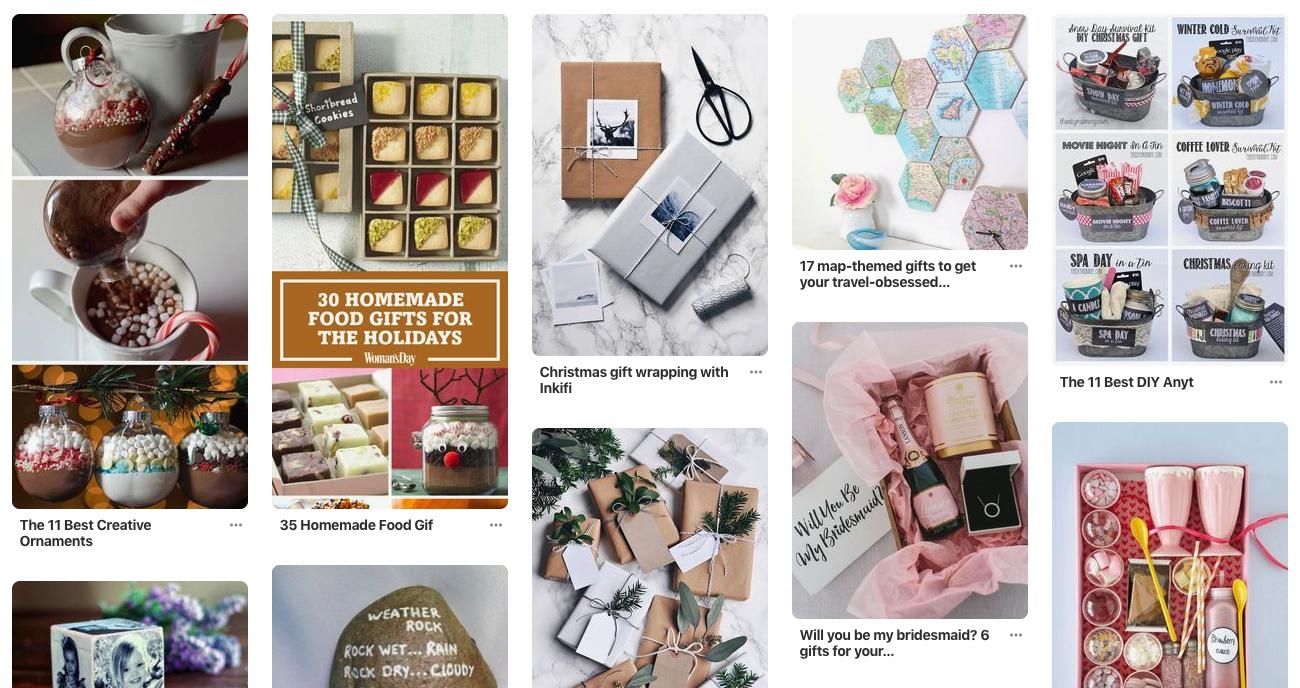 Pinterest Gifts