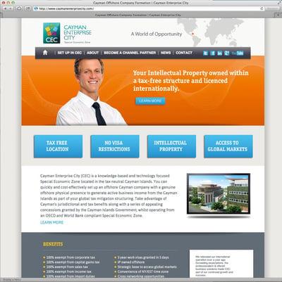 CEC's Previous Website