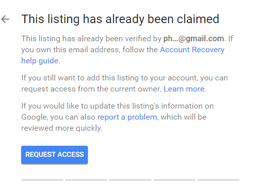 Practitioner Listing Google My Business