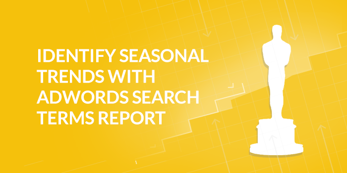 AdWords Search Terms Report for Organic Content
