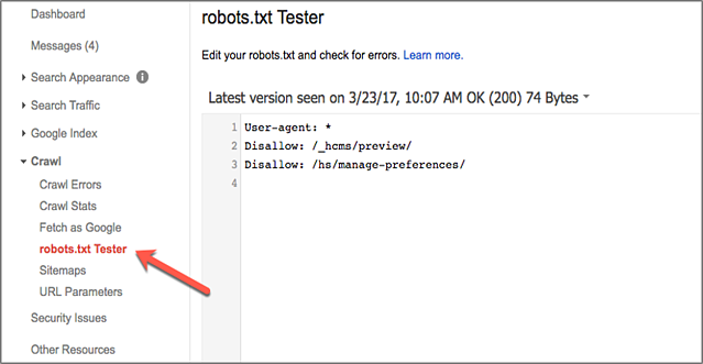 robots txt for ecommerce