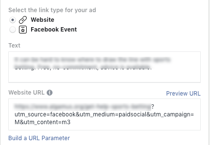 Facebook Ads Tracking