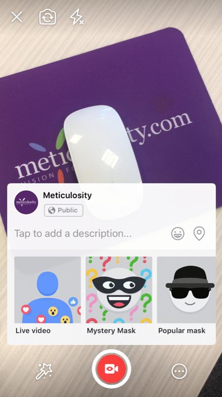 mobile facebook business live