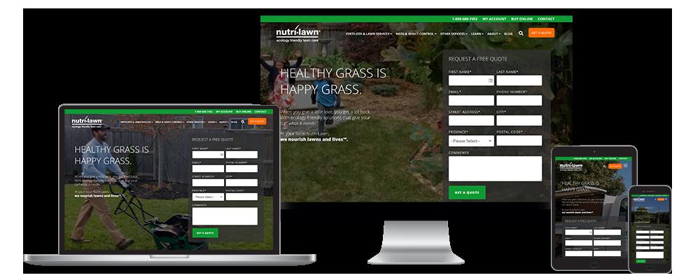 Nutri-Lawn GDD Website