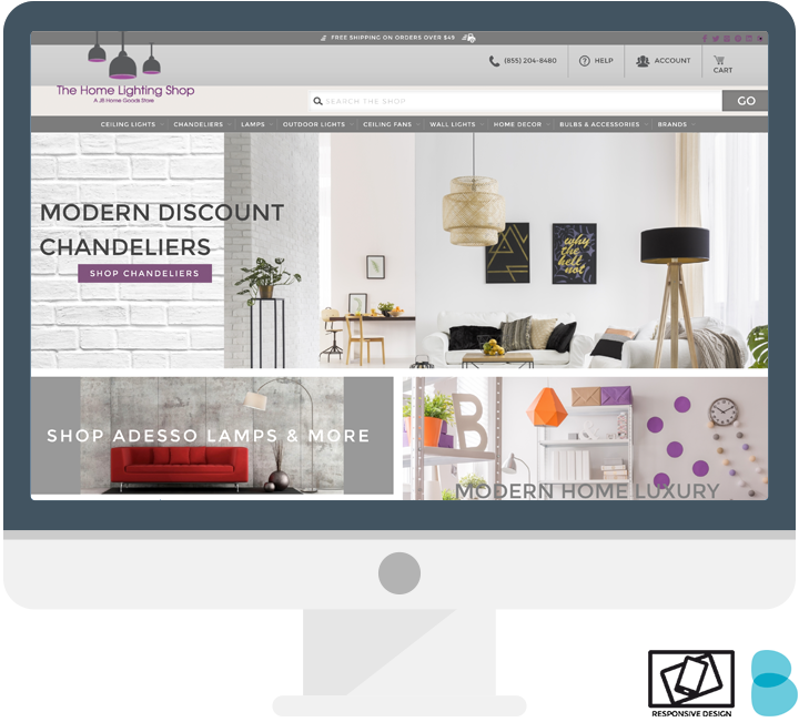Custom Bigcommerce Site Design