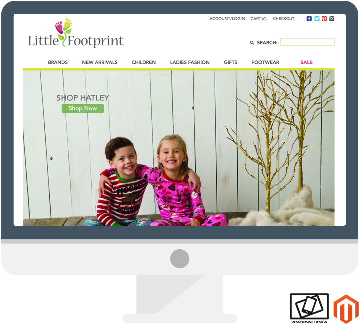 Responsive Magento Web Design