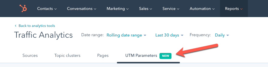 UTM Parameter Tracking in HubSpot