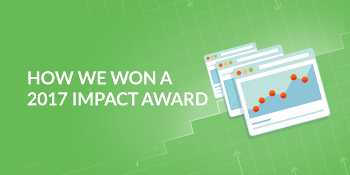 We Won a 2017 IMPACT Award!
