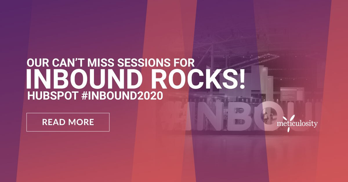 INBOUND Rocks! Our Can't-Miss Sessions for HubSpot #INBOUND2020